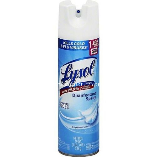 New Lysol Disinfectants Spray