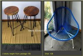Moving sale: Various decor-items, furniture and plants